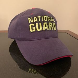 National guard hat victory lane
